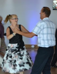 Have fun learning ballroom and latin dancing with Elaine's Dancing School