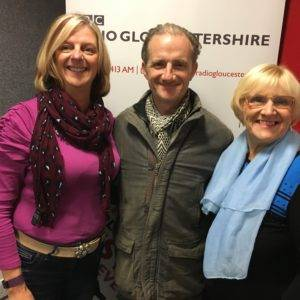 Elaine on BBC Radio Gloucestershire talking about Strictly