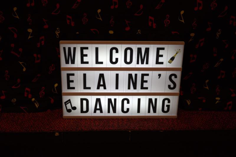 Welcome Elaine's Dancing