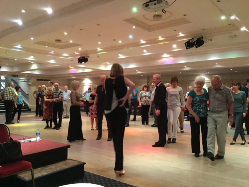 Beginners ballroom and latin classes