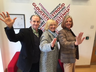 Radio Gloucestershire Strictly Come Dancing Panel